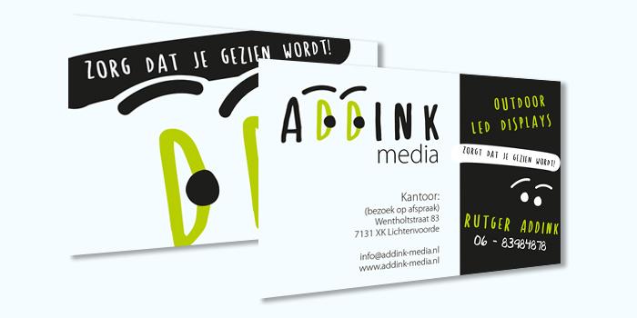 visitekaartjes Addink